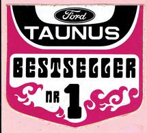 Sticker - Ford TAUNUS - BESTSELLER Nr 1 - Stickers