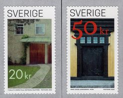 Sweden - 2020 - Doors - Mint Self-adhesive Coil Stamp Set - Neufs