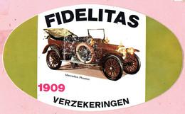 Sticker - FIDELITAS Verzekeringen - Mercedes Phaeton 1909 - Stickers
