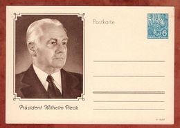 P 67 Fuenf-Jahr-Plan Abb Pieck, Ungebraucht (89516) - Postales - Nuevos