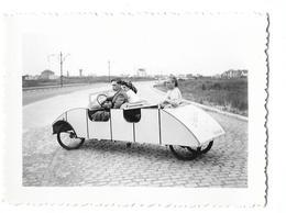 Cuistax ( Oostende ? Blankenberge ? De Panne ?  ... )  1947 Photo 9x6 - Anonieme Personen