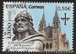 2018-ED. 5258 COMPLETA- 1300 Aniversario Reino De Asturias -USADO- - 1931-Hoy: 2ª República - ... Juan Carlos I