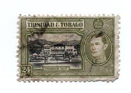 TRINIDAD & TOBAGO»1938»MICHEL TT 141»USED - Stamps