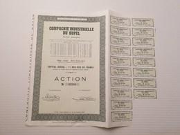 Titre Belge : Cie Industrielle Du Rupel - Shareholdings