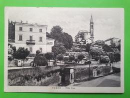 Cartolina - Tonco - Villa Toso - 1942 - Asti