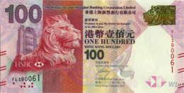 Hong Kong (HSBC) 100 HK$ (P214) 2012 -UNC- - Hong Kong