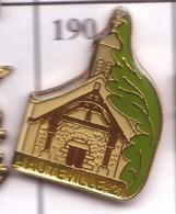 FF190 Pin's Ville Village HAUTEVILLE EGLISE COTE D'OR Achat Immédiat - Villes