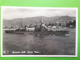 Cartolina - Marina R.I Giovanni Dalle Bande Nere - 1940 Ca. - Militari