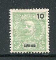 ZAMBEZIE- Y&T N°16- Neuf Avec Charnière * - Zambezia