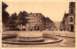 Liège - Rue Des Guillemins (animée Tram Tramway, Hôtel Restaurant Oldtimer) - Luik