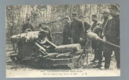 N°661 - La Grande Guerre 1914/15/16 - Mise En Batterie D'un Obusier De 220   - Maca0587 - Guerre 1914-18
