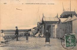 CPA Grandcamp-les-Bains (Calvados) - Les Cabines - Andere Gemeenten