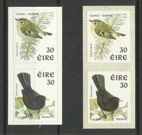 IRELAND  1998  BIRDS, SELF ADHESIVE PAIRS  MNH - Non Classés