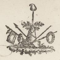Héraldique Carspach An 8 - 5.11.1799 Subsistances Militaires L'Inspecteur - Documents Historiques