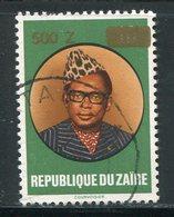 ZAIRE- Y&T N°1333- Oblitéré - 1990-96: Oblitérés