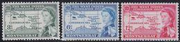 Montserrat 144/46 - West Indies Federation 1958 - MNH - Montserrat