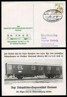 Bund PP98 B2/001 BAHNPOSTWAGEN Typ Post 2-a Bahnpoststempel Oberhausen 1978 - [7] République Fédérale