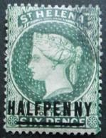 STE HELENE N°12a Oblitéré Cote 8€ - Sainte-Hélène