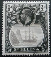 STE HELENE N°68 Oblitéré - Sainte-Hélène