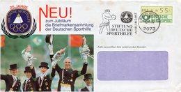 ALEMANIA / GERMANY  CARTA 1974 MICHEL DE  ATM1.1h, - [7] Repubblica Federale