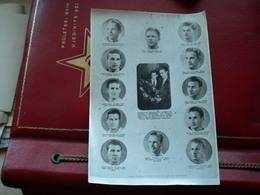 Football Olympiasieger Ungarn Olympic Football   Czibor, Kocsis, Budai, Lantos Hidegkuti Puskas,Grosics Palotas ..... - Sporten