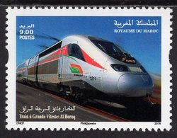 Morocco - 2019 - Inauguration Of Casablanca-Tangier TGV Line - Mint Stamp - Maroc (1956-...)
