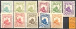 [845725]TB//*/Mh-c:15e-Espagne 1930 - N° 429/41, Lot */mh, Trains, Transports - 1889-1931 Kingdom: Alphonse XIII