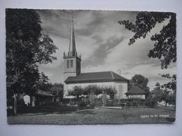 N96 CPA Eglise De St. Cierges - 1971 - France