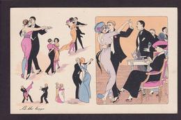 CPA Sager Xavier Femme Girl Women érotisme Glamour Non Circulé Danse Tango BG 584 - Humor