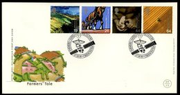 Europa CEPT 1999 Grande Bretagne - Great Britain - Großbritannien FDC Y&T N°2125 à 2128 - Michel N°1823 à 1826 - 1999