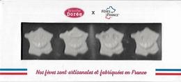 Fèves -  Lot De 4 Fèves Dans Un Joli Coffret Représentant La France - Fèves Artisanales Et Fabriquées En France - - Pays