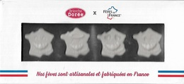 Fèves -  Lot De 4 Fèves Dans Un Joli Coffret Représentant La France - Fèves Artisanales Et Fabriquées En France - - Länder