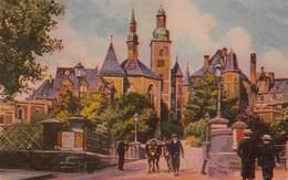 Luxembourg Pont Du Chateau Et L'église St Michel Schlossbrücke Und Michaeliskirche     Barry 4738 - Luxemburg - Stad