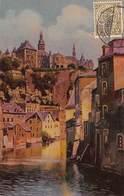 Luxembourg L'Alzette Au Grund Et Le Quartier St Michel     Barry 4740 - Luxemburg - Stad