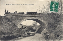 CPA 41 SAVIGNY Sur BRAYE Train - Andere Gemeenten