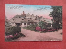 Hand Colored  The Greymore  Bay Shore  New York > Long Island   Ref 3829 - Long Island