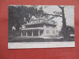 Sylvester Manor  Shelter Island   Has Crease   New York > Long Island   Ref 3829 - Long Island
