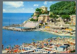 °°° Cartolina - Golfo Del Paradiso Recco Scorcio Della Spiaggia E Stadio Viaggiata °°° - Genova (Genoa)