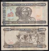 2011 Eritrea 100 Nafka Banknote Uncirculated - Eritrea