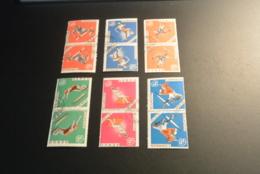 K29347 -double Set Used Ecuador - Olympics Mexico 1968 - Zomer 1968: Mexico-City