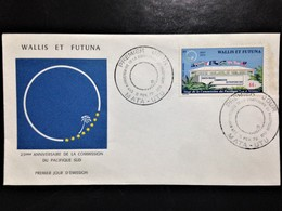 """Wallis Et Futuna, Uncirculated FDC, """"Anniversaries"""", """"Flags"""", 1972 - Covers & Documents"""
