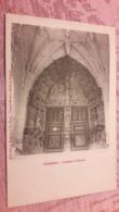 52 Poissons Intérieur Du Portail Eglise Non Circulé - Poissons