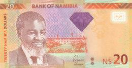 NAMIBIA 20 DOLLARS 2013 P-12b UNC */* - Namibie