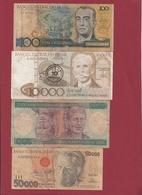 Brésil 4 Billets Dans L 'état Lot N °1----(151) - Brazil