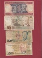 Brésil 4 Billets Dans L 'état Lot N °4----(154) - Brazil