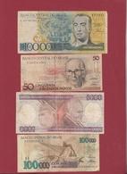 Brésil 4 Billets Dans L 'état Lot N °5----(155) - Brazil