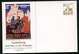 KARL MAY Bund PP147 D2/001 Deggendorf 1987  NGK 6,00 € - Schriftsteller