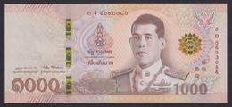 THAILAND  1000   2018 UNC - Thailand