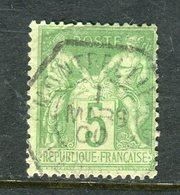 Superbe N° 102 Cachet Du Bureau Auxiliaire De Montpellier ( 1900 ) - 1898-1900 Sage (Type III)
