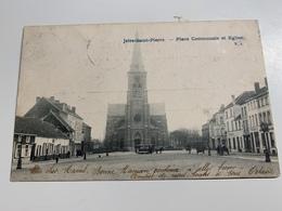 Jette St Pierre Place Communale Et Eglise - Jette